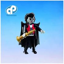 Playmobil Vampiro Medieval Crepusculo Dracula Retromex