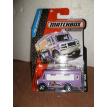 Matchbox Camioneta Comida Mbx Van Morado 8/120 1:64