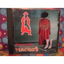 Banda Machos Cd Historia Sin Fin Edc.97 Con Poster
