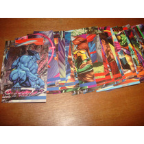 Trading Cards Marvel Flair Anual 1995 Set De 46 Tarjetas