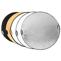 Reflector Portatil Ligero 5-en-1 Fotografia Ovalado 110cm