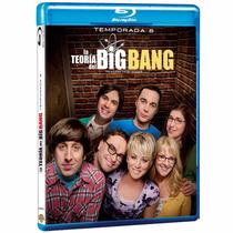 La Teoria Del Big Bang Octava Temporada 8 Ocho Serie Blu-ray