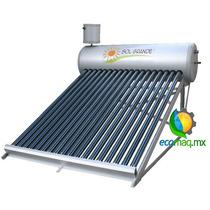 Calentador Solar Gravedad Sol Grande 24tubos 205 Lt Ecomaqmx