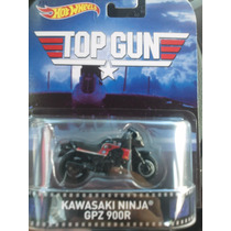 Hot Wheels De Coleccion Retro 2015 Kawasaki Ninja Top Gun