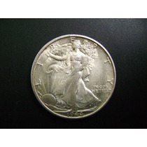 Medio Dólar Walking Liberty 1944 S