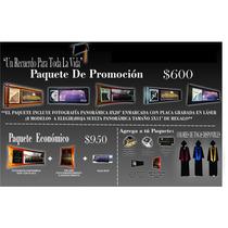 Paquetes De Graduación,foto Panoramicas,reconocimientos,toga