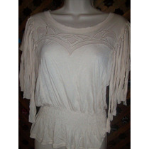 Forever Something Mavy Blusa Color Beige Talla Chica
