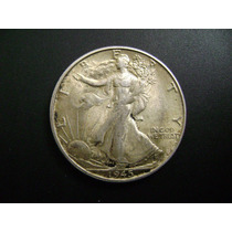 Medio Dólar Walking Liberty 1945 S
