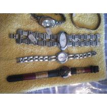 Remato Coleccion De Relojes De Pulso Dama 16 Relojes !!!