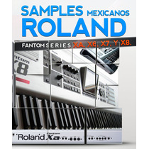Samples Roland Fantom Series Xa,x6,x7,x8.