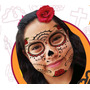 Tatuajes Temporales De Catrina Y Catrin Para Halloween