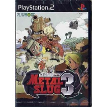 Metal Slug 3 Ps2 Japonesa