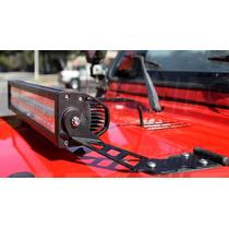 Barra Con Luces Led Para Cofre Jeep Wrangler 1997 - 2006