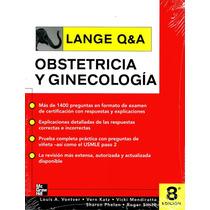 Obstetricia Y Ginecología Lange, Preguntas Y Respuestas