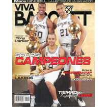 Nba Spurs Campeones Revista, Poster Parker, Carta Jordan Hm4