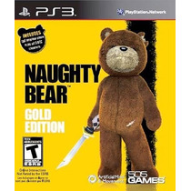Naughty Bear Gold Edition Ps3 Nuevo De Fabrica
