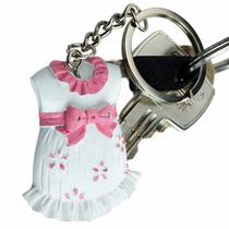 10 Llaveros Vestido Niña Baby Shower Recuerdo Bautizo M7010