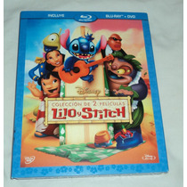 Lilo Y Stitch 1 & 2 - Bluray + Dvd Clasico Walt Disney Vbf