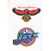 1997 Ud Choice Italian Sticker Hawks Jazz Logo Teams #136