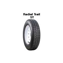 Llanta St175/80 R13 Radial Trail-remolques Utilitarios.
