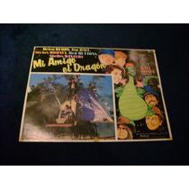 Mi Amigo El Dragon Walt Disney Lobby Card Cartel Poster