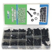 Grip-on-herramientas 43164 Metric Tuerca Y Tornillo Kit 240