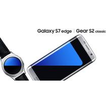Samsung Galaxy S7 Edge + Reloj Gear S2 + Visor Vr