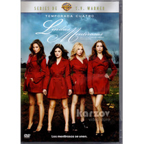 Lindas Mentirosas Pretty Little Liars Temporada 4 Cuatro Dvd