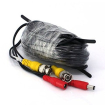 Cable Siamex De 18 Metros Con Conectores Vbf