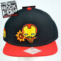 Iron Man Marvel Kawaii Gorra Importada 100% Original