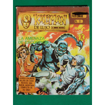 Kaliman El Hombre Increible De Lujo #3 Amenaza De Escorpion