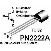 2n2222 Npn Transistor (10pzas) - Pic Master Prog Atmel Avr