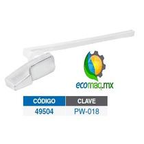 Palanca Cromada Plastica Para Baño Wc Foset 49504 Ecomaqmx