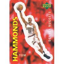 1997 Ud Choice Italian Sticker Tom Hammonds Nuggets #19