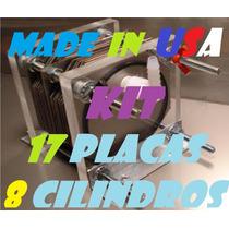 Kit Celda Seca 8 Cil 17 Placas Usa Hho Hidrogeno Ahorrador