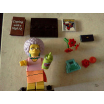 Patty Bouvier Y Accesorios Simpsons Minifigura Lego Trabucle