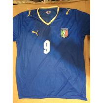 Jersey Puma Italia 2008 Toni Talla Xl