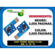 Chip Toner Xerox C1190 (negro, Cyan,magenta,yellow) Vbf