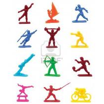 Figuras Representativas De Los Juegos Olímpicos. Flexibles.