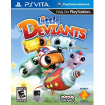 Little Deviants Ps Vita Nuevo De Fabrica