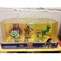 Set De Figuras De Disney De Toy Story Es Nuevo !!