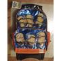 Backpack Mochila Villano Favorito Minion Con Carrito