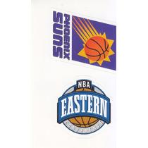 1997 Ud Italian Sticker Nba Eastern Suns Logo #91 #3
