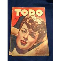 Revista Todo Año 1942 México D.f. Número 450