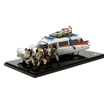 Hot Wheels Ghostbusters 30th Ecto 1 With 4 Figures The Movie
