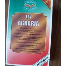 Ley Agraria-y Disp.complementarias-actualizada-edi-anaya-vbf
