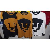 Jersey Pumas Retro Escudo Y Numero Cosidos