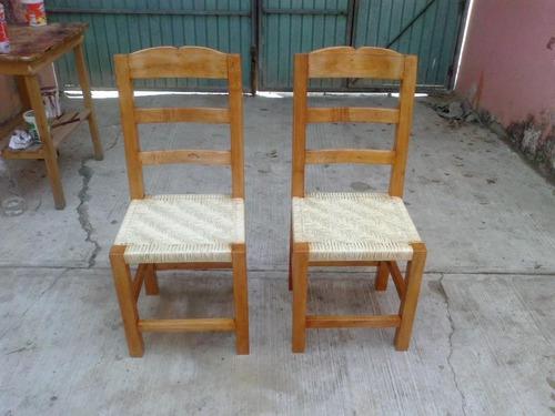 Sillas tejidas de palma madera de cedro 349 wfm5t for Sillas de madera precios