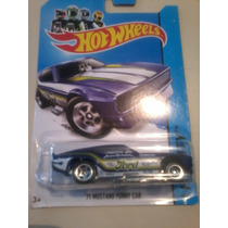 Hot Wheels De Coleccion 2014 Mustang Funny Car 71 Vbf