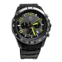 Reloj Casio Edifice Efr-516-1a3 Analogo Crono Fechador Wr100